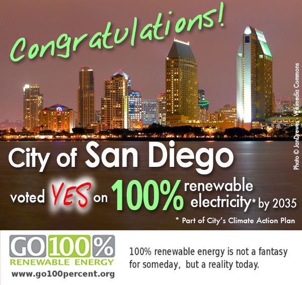 San Go Takes 100 Renewable Electricity Target From Vision To Law